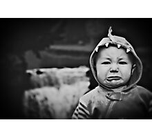 The Unhappy Dinosaur Photographic Print