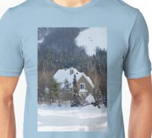 Skiing in the Countryside Unisex T-Shirt