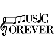Music Forever Photographic Print
