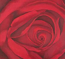 Secrets ( Red Rose) by Kim Bender