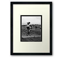 Three Peaks Cyclocross 2011 Framed Print