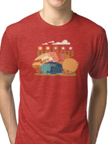 Wombat Dreams Tri-blend T-Shirt