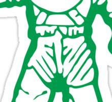 bbc green Sticker