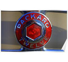 """""""Packard 12"""" Poster"""