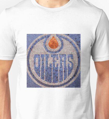 The Oilers - Bottle Cap Mosaic Unisex T-Shirt