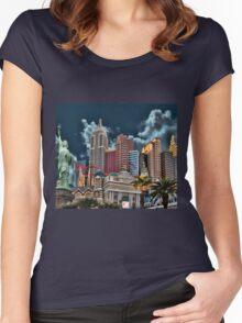 ♂ ♀ ∞ ☆ ★ New York -New York T-Shirt ♂ ♀ ∞ ☆ ★ Women's Fitted Scoop T-Shirt