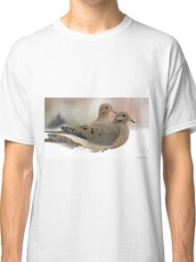 Two mourning doves Classic T-Shirt