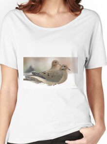 Two mourning doves Women's Relaxed Fit T-Shirt
