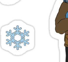 Chilly Luke  Sticker