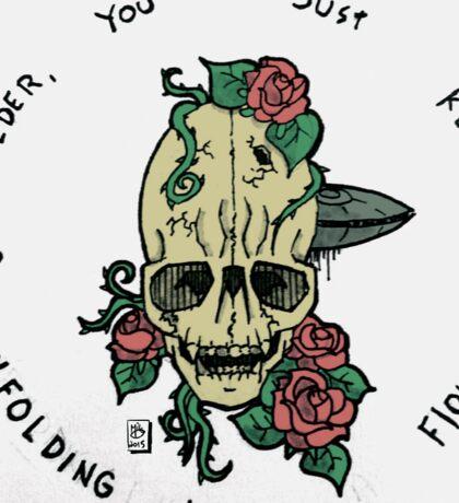 An Ode to Fox Mulder Sticker