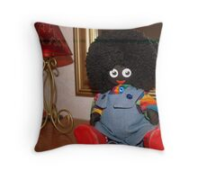 Colourful Golly! Throw Pillow