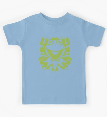 It's Not Easy Being Inked (green) Kids Tee