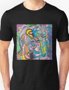 Geometric Circles Unisex T-Shirt