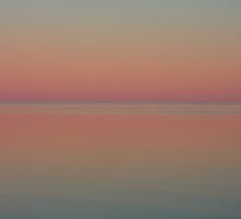 Halligan Bay  -  Lake Eyre by Joel  Haldane