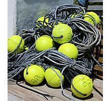 Lobster Pot Buoys Photographic Print