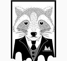 Raccoon in Suit Unisex T-Shirt
