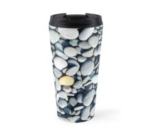 Orange Stone Travel Mug