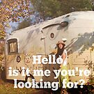 Hello, is it me you're looking for? stickers by redcow
