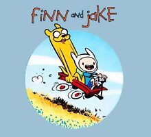 Finn And Jake Adventure Time Unisex T-Shirt