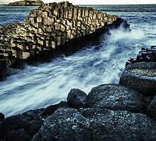 Giant's Causeway Fingal Heads by Marian Moore