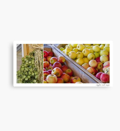 Apple Hops Canvas Print