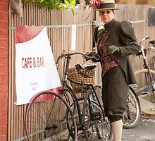 0092 Can I park my bicycle here ? by DavidsArt