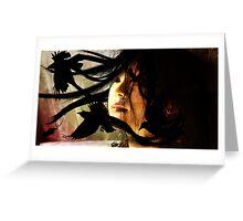 Midnight Geisha Greeting Card