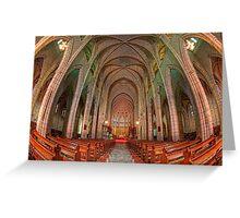 St John's Cathedral • Brisbane • Australia Greeting Card