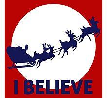 I Believe Santa Photographic Print
