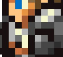 Squall Leonhart sprite - FFRK - Final Fantasy VIII (FF8) Sticker