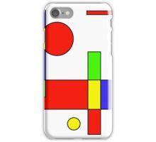 Color Blocks Primary iPhone Case/Skin
