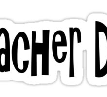 Teacher Sticker