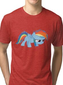 Filly Rainbow Dash Tri-blend T-Shirt