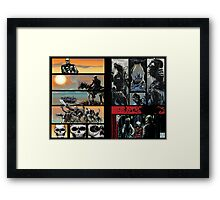 Prelude to battle - the White Queen-Bishop's Tale Part 6 Framed Print