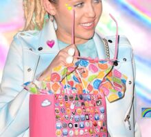 MILEY IS FWEAKY TUMBLR Sticker