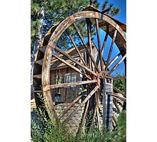 Water Mill Photographic Print