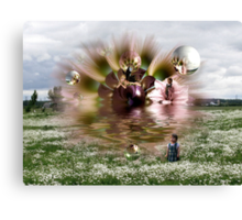 Through A Childs Eyes Canvas Print