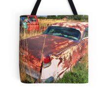 Old car - Cadillac Tote Bag