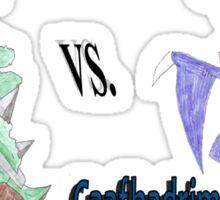 Grover vs. Gaafhadrim Sticker