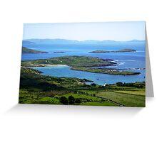 Derrynane Bay - Caherdaniel, Ireland Greeting Card
