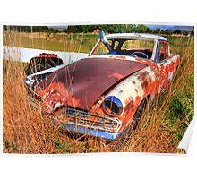 Old car - Studebaker Poster