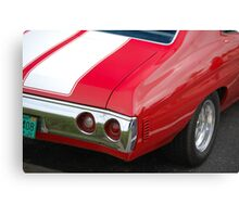 Chevy Powered Canvas Print