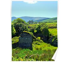 Birthplace of Daniel O'Connell -  Caherciveen, Ireland Poster