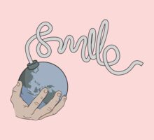 Smile, it's the end of the world Kids Tee