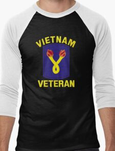 The 196th Infantry Brigade Vietnam Veteran Men's Baseball ¾ T-Shirt