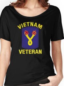 The 196th Infantry Brigade Vietnam Veteran Women's Relaxed Fit T-Shirt