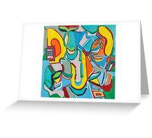 Jukebox in the Corner Greeting Card