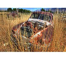 Old car - Packard Photographic Print