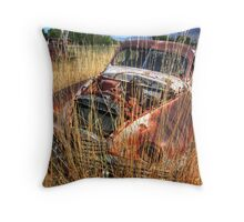 Old car - Packard Throw Pillow