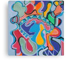 Colorful Swirls Canvas Print